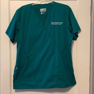 Gently used scrub top